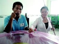 80后情侣肖龙涯和罗莹:拒高薪聘请 回农村创业当渔夫年赚30万